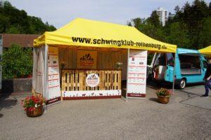 Luzerner Kantonales Schwingfest am Weihnachtsmarkt Rothenburg im Flecken